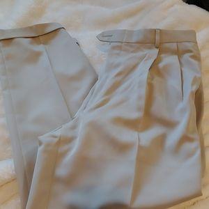 Joseph A Bank gray green golf pants size 38 x 22
